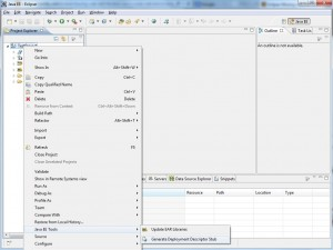 How to generate wex.xml file